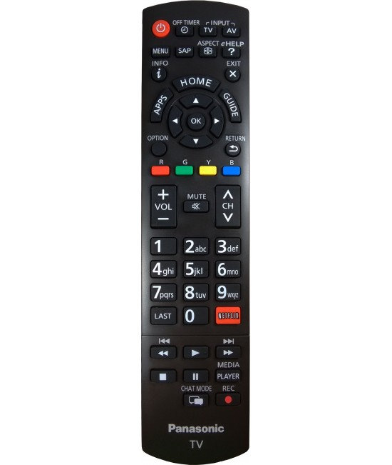 Controle Original Panasonic Viera c/Netflix