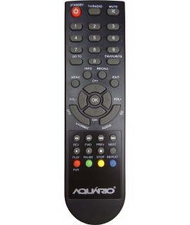 Controle Original Aquario DTV8000 Conversor Digital